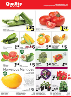 Quality Foods Flyer April 9 - 15, 2018