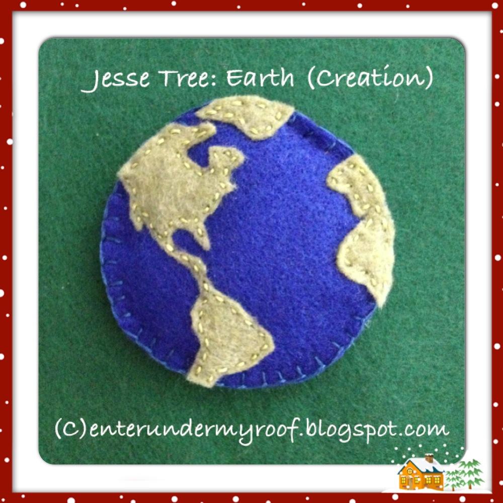 jesse tree ornament templates - activity jesse tree earth creation faith and fabric