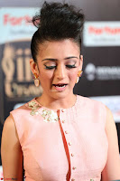 Akshara Haasan in Peachy Crop Top Choli Skirt at IIFA Utsavam Awards 54.JPG
