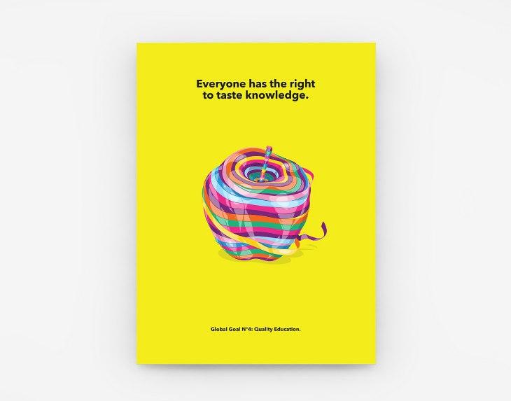 Adhemas Batista - Graphic Design - Global Goal