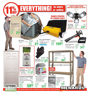⭐ Menards Ad 9/27/20 ⭐ Menards Weekly Ad September 27 2020