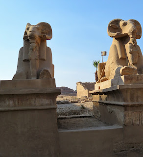 Sphinxes at Karnak