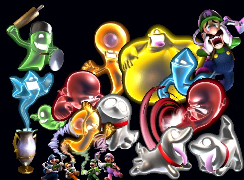 Tommy S Super Mario Blog Ghost Family