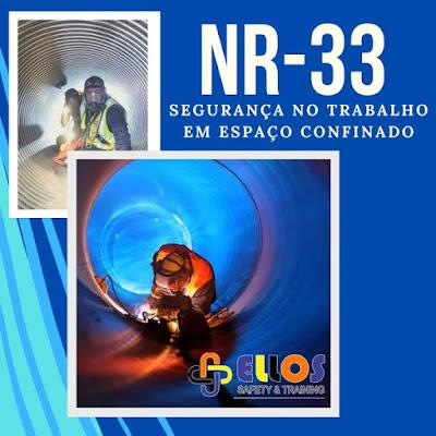 Curso Online NR-33 16H - Capacitação de Trabalhadores Autorizados e Vigias em Espaço Confinado