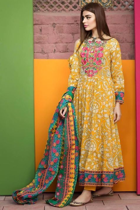 Latest Frock Fashion Design In Pakistan For Summer 2020