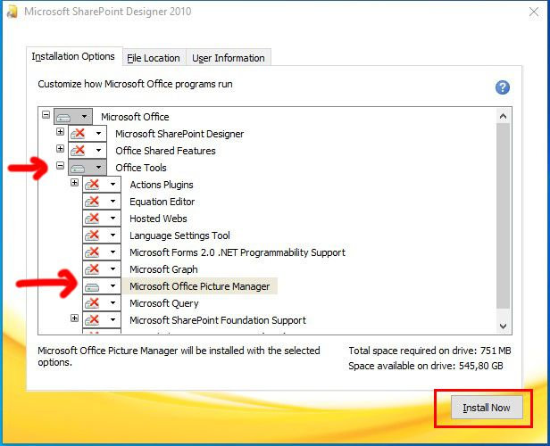 microsoft office picture manager 2010