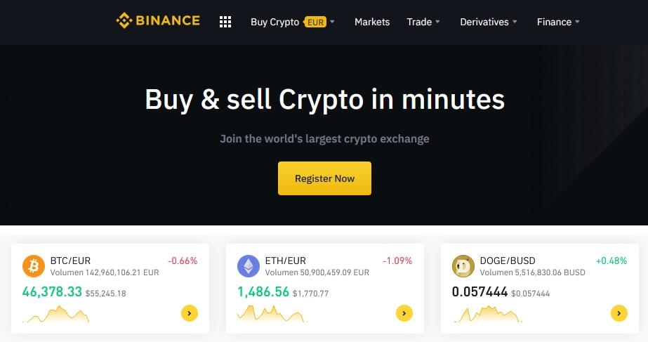 Binance, plataforma para comprar y vender Bitcoins