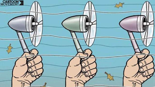 A energia eólica alternativa está tendo imagem negativa na Alemanha