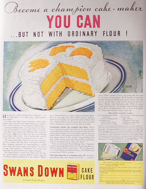 Top Ten Cake Flavors
