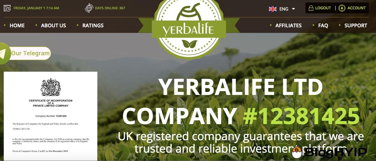 review yerbalife.net