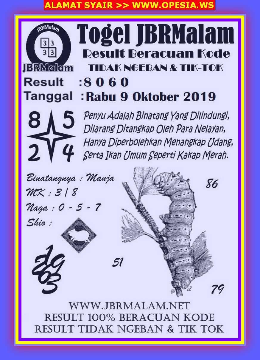 Kode syair Singapore Rabu 9 Oktober 2019 56