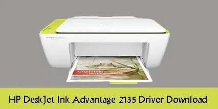 HP DeskJet Ink Advantage 2135 Printer Driver [Free Download]