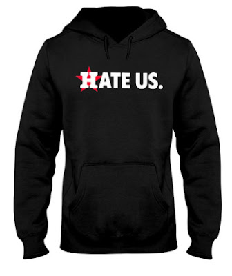 Houston Astros Hate Us T Shirts Hoodie Sweatshirt. GET IT HERE