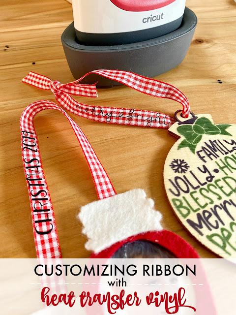 silhouette 101, silhouette america blog, heat transfer vinyl, custom ribbon, htv