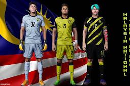 Malaysia Kits Season 2021 - PES 2017