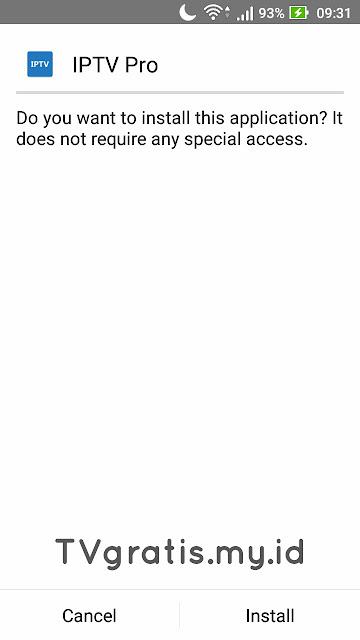 cara install iptv pro