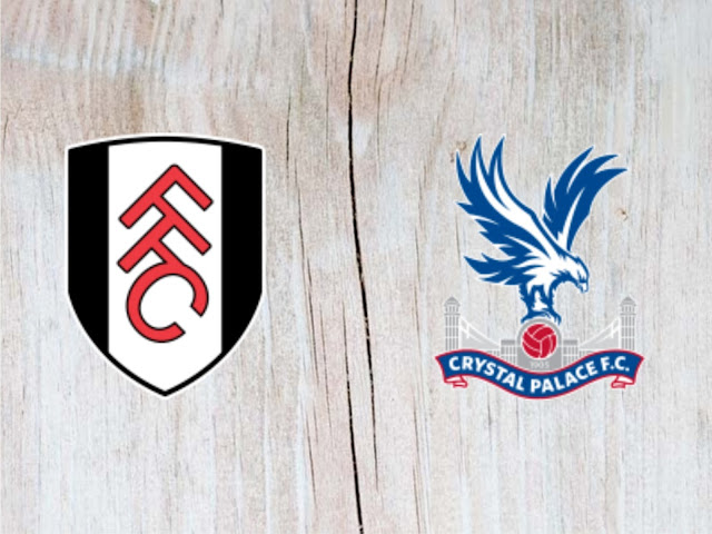 Fulham vs Crystal Palace - Highlights - 11 August 2018