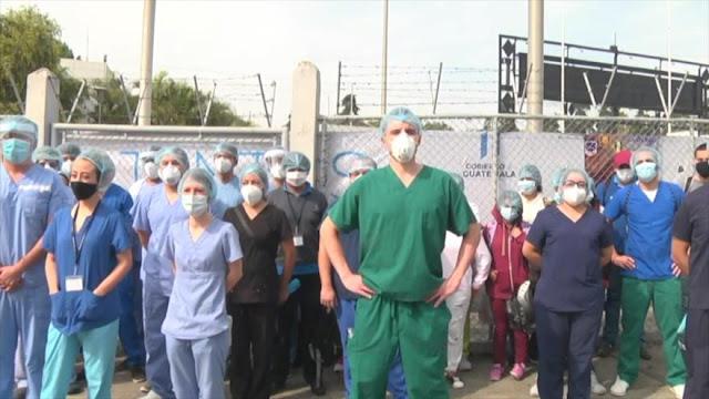 Médicos en Guatemala renuncian por escasez de insumos
