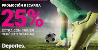 GoldenPark Recarga Deportes Apuestas Deportivas 5-11 agosto 2019