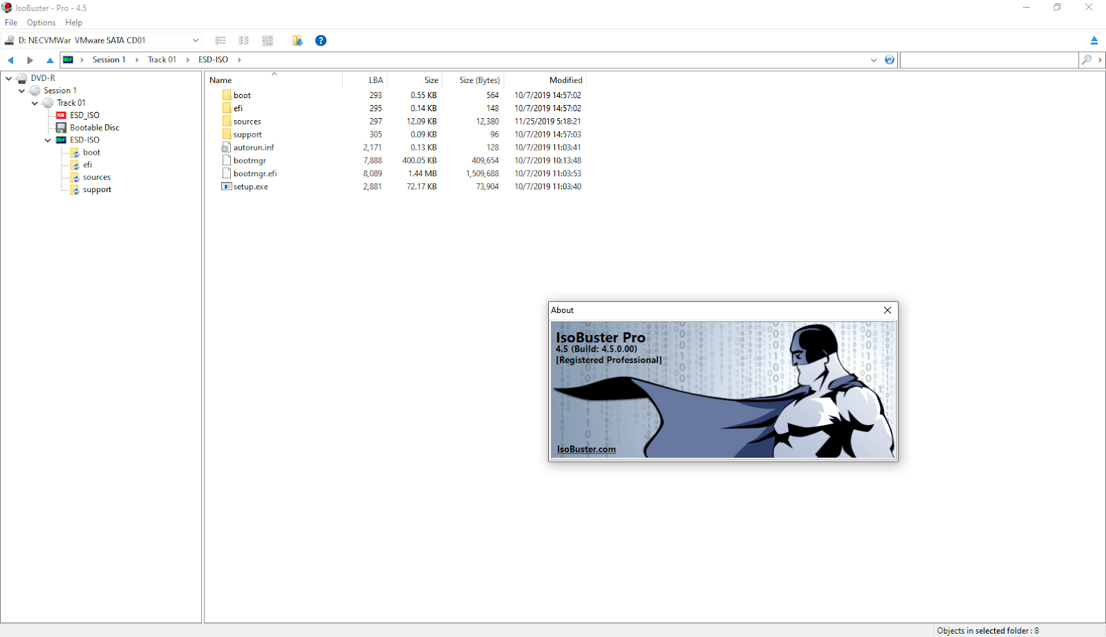 IsoBuster Pro v4.5 Build 4.5.0.00 Full version » 4DOWNLOAD