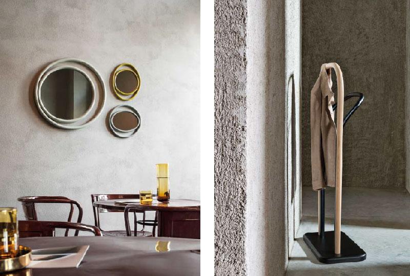 Eyeshine Mirrors Design Anki Gneib, 2015 - Arch Clothes Valet Design Front, 2014