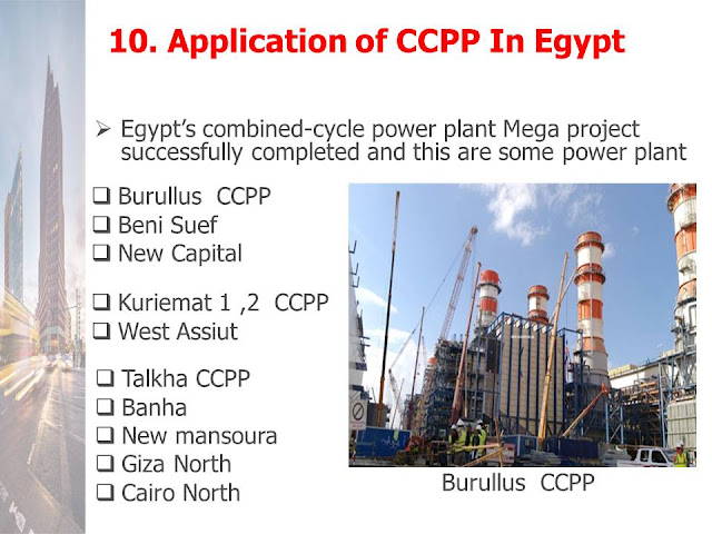 Application of CCPP In Egypt 10.1  BENISUEF COMBINED CYCLE 4800 MW POWER PLANT