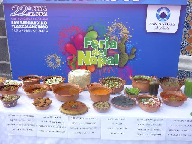Feria del Nopal Tlaxcalancingo 2017