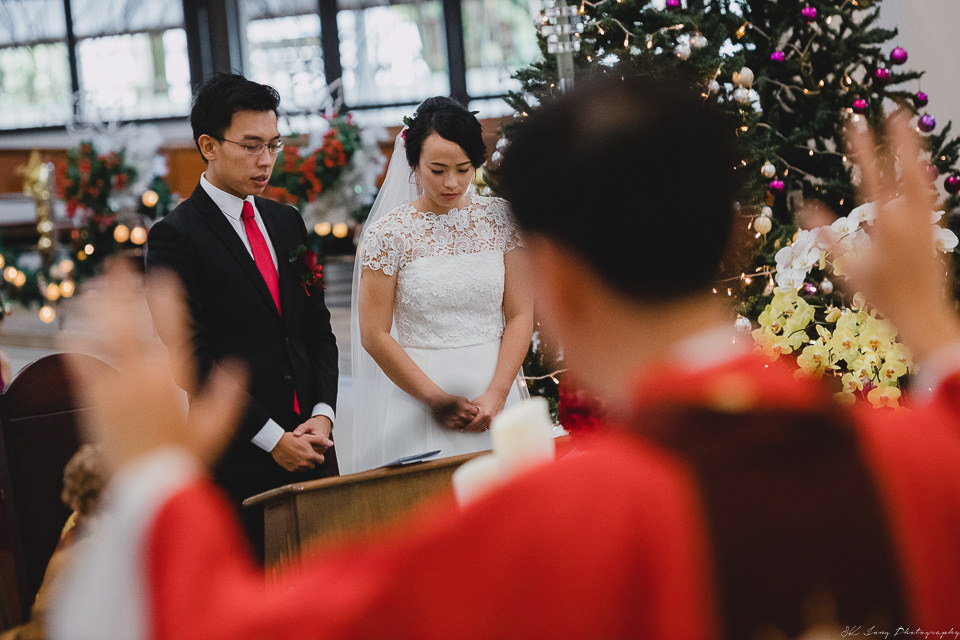 Wedding at Blessed Church, Kuching Wedding, Kuching Wedding Photographer, Sk Jong Photography