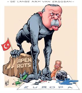 Media Belanda Hina Presiden Turki Recep Tayyip Erdogan