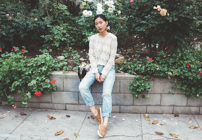 Stephanie Liu of Honey & Silk | Travel Style with UGG