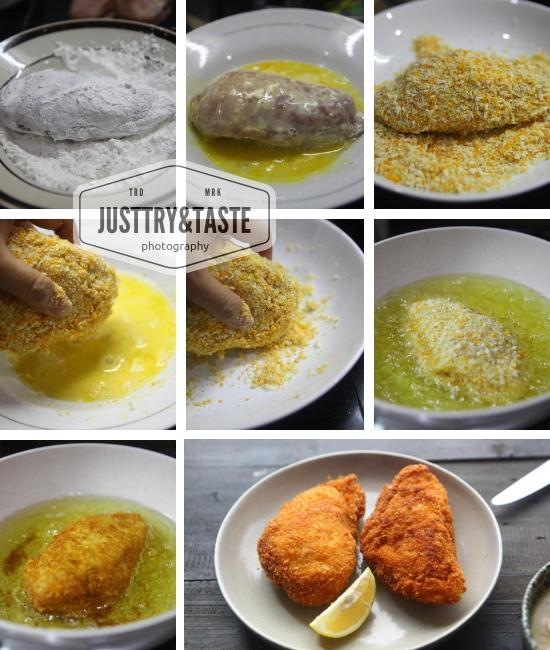 Resep Chicken Cordon Bleu dengan Saus Jamur JTT