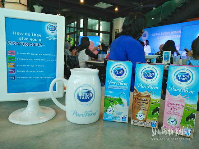 Sarapan Lengkap Dengan Pilihan Susu Dutch Lady PureFarm