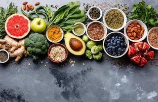 Memperbanyak sayur dan buah