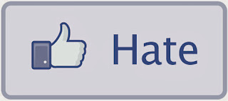 social media icon facebook dislike hate button design