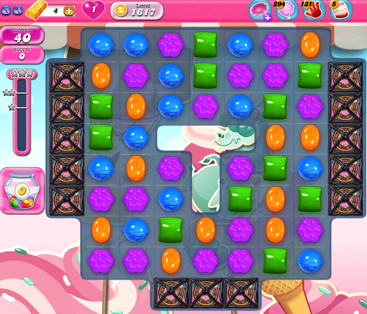 Candy Crush Saga 1617