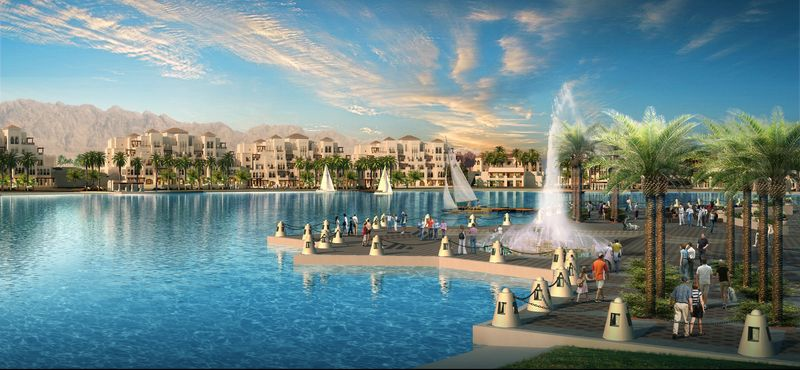 Egypt travel news world s largest swimming pool in egypt for Stars swimming pool tacloban city