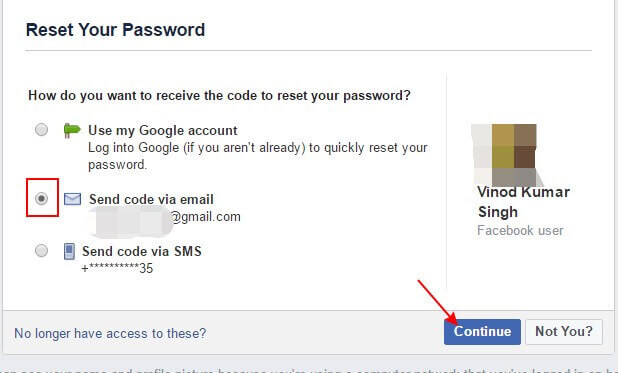 Facebook Password reset karne ka tarika
