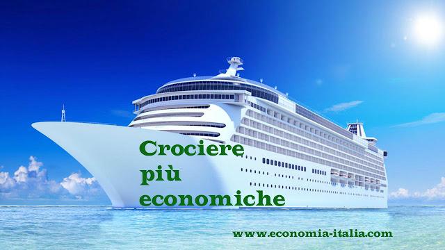 Crociere più economiche 2017 per pensionati con partenza dall'Italia