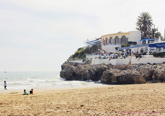 Restaurante la Cúpula: Playa del Garraf