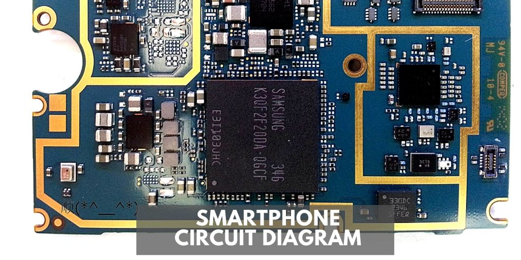 Mobile Repairing Online  Mobile Phone Circuit Diagram