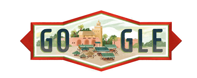 Morocco National Day 2016: Google Doodle
