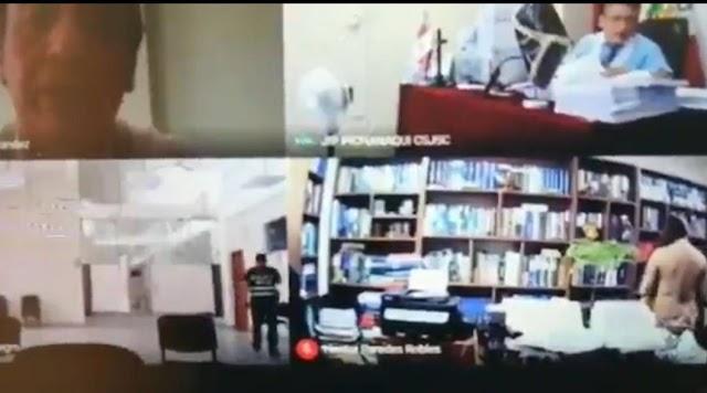 Abogado tiene relaciones sexuales en plena audiencia virtual en Perú; olvidó apagar la camara