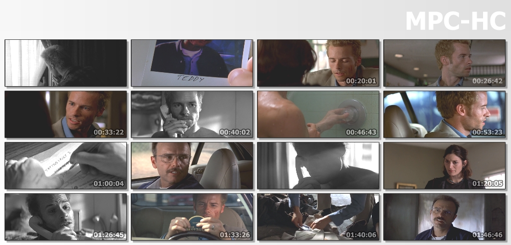 Download Memento (2000) BluRay Dual Audio [Hindi ORG DD2.0 + English] 720p [850MB]