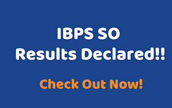 IBPS Specialist Officer Exam Mains Result 2020 declared at ibps.in