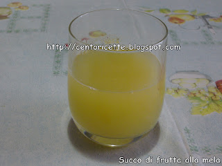 Succo di frutta alla mela