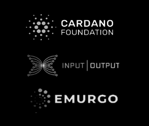 Three Entities supporting the Cardano Blockchain/ADA cryptocurrency are Input Output, Emurgo and the Cardano Foundation.