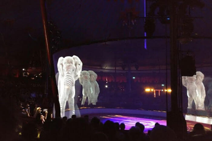 Circus In Germany Uses Holograms Instead Of Live Animals To Raise Awareness Against Animal Cruelty