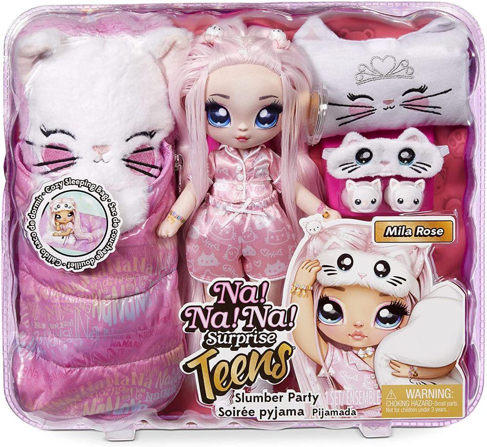 Mila Rose кукла NaNaNa Surprise Teens Slumber Party
