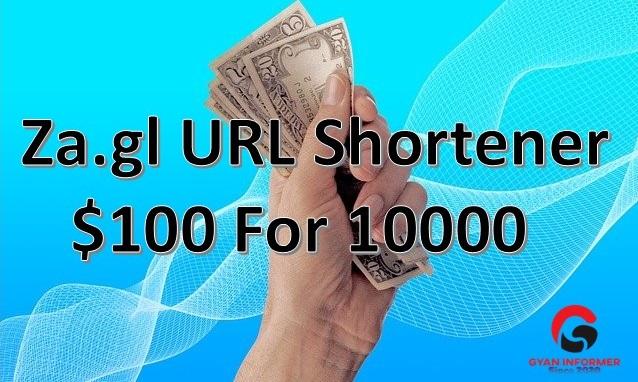 Za.gl URL Shortener