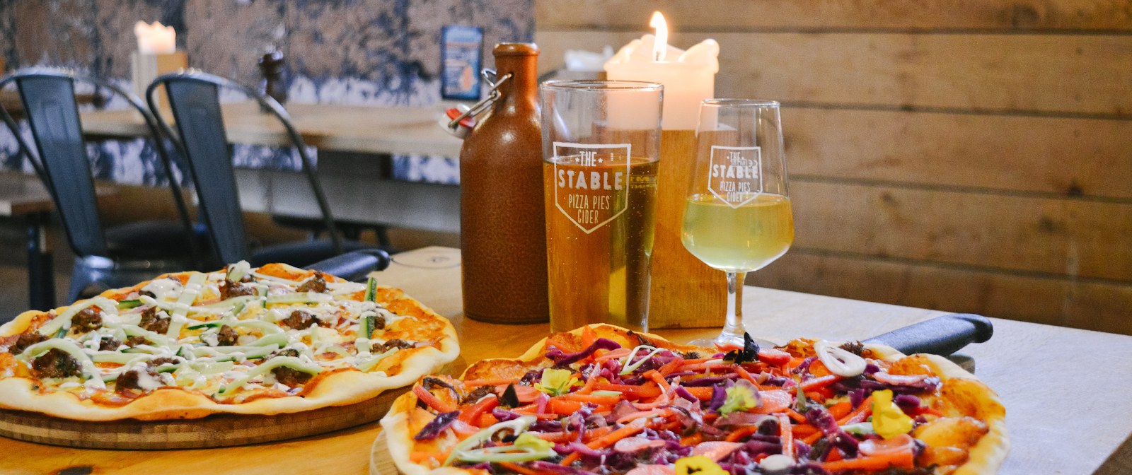 The Stable Winchester Pizza and Cider, The Stable Winchester Review, Places to eat in Winchester